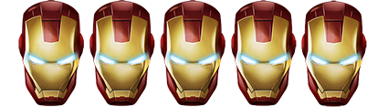 Iron Man Head Rating