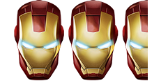 Iron Man Head Rating 3